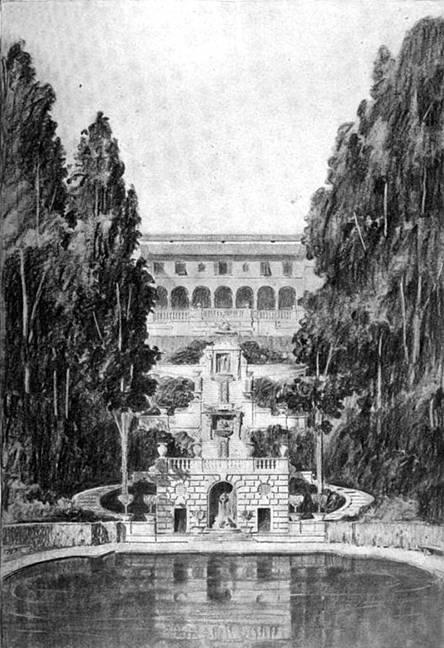 Villa Turicum  Blueprints