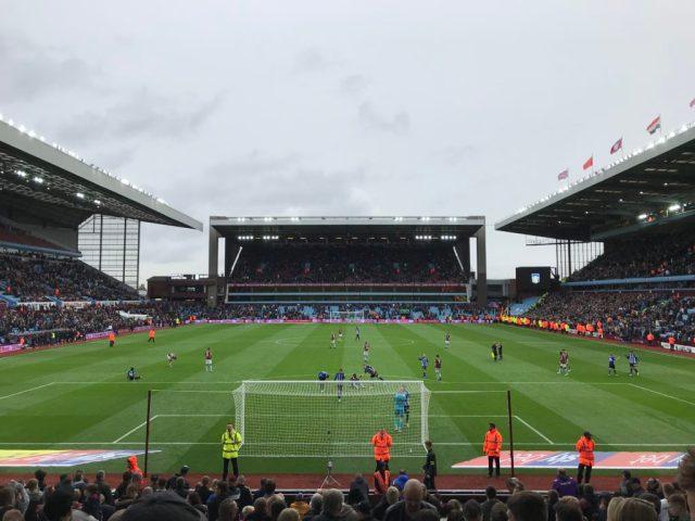 Aston Villa 1-2 Sheffield Wednesday - Villa Park