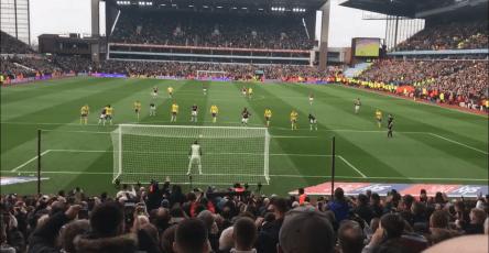 Tammy Abraham penalty Birmingham City Aston Villa