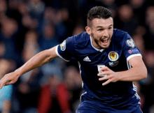 John McGinn Scotland goal Russia
