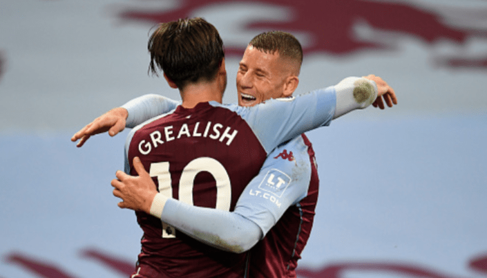 Ross Barkley Grealish Aston Villa