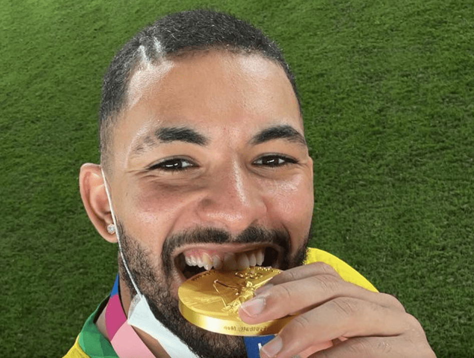 Douglas Luiz Brazil Gold Aston Villa