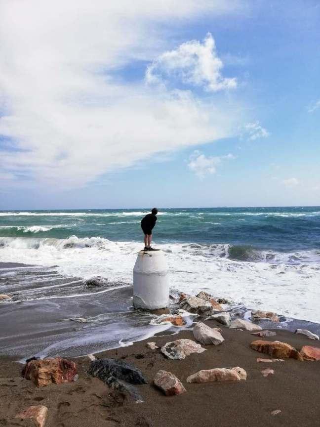 Ensam i havet