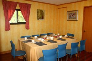 Another view of Function Room Table with Chairs