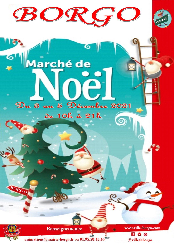 Affice Marché de Noel 2021