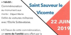 Repas 75ème Anniversaire de la Libération