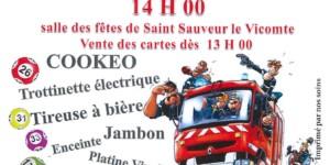 Loto des Sapeurs Pompier de Saint-Sauveur-Le-Vicomte – Dimanche 1er mars