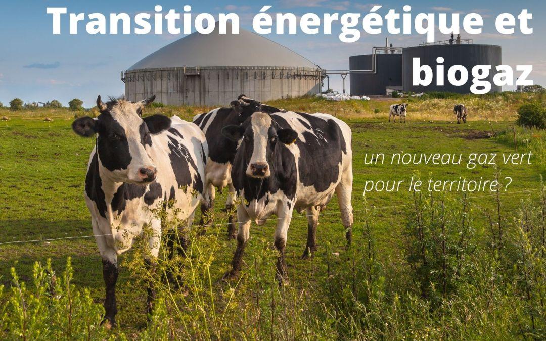 Transition énergétique et biogaz, un nouveau gaz vert pour le territoire ?