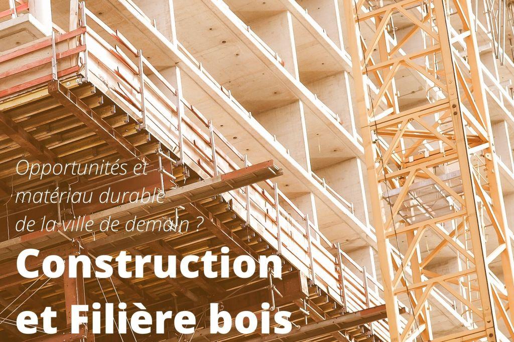 Construction d'un immeuble en bois