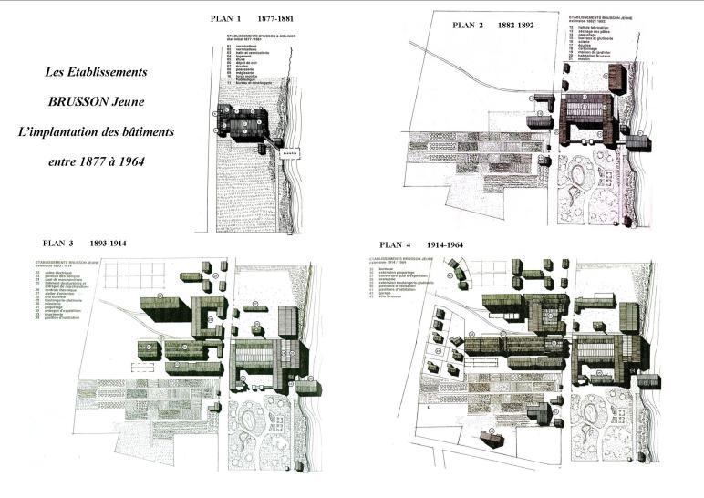 implantation des bâtiments