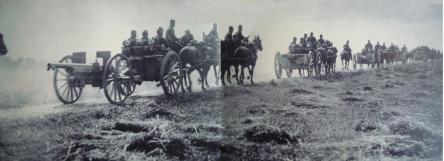 artillerie en marche