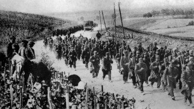 regiment en marche