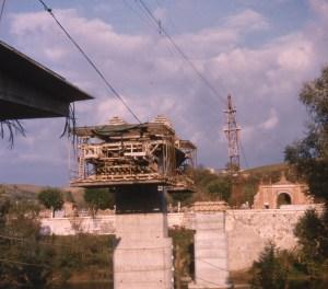 construction du nouveau pont