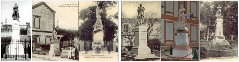 six monuments aux morts