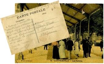 carte postale de contrexéville