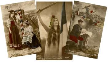 cartes postales de quartorze