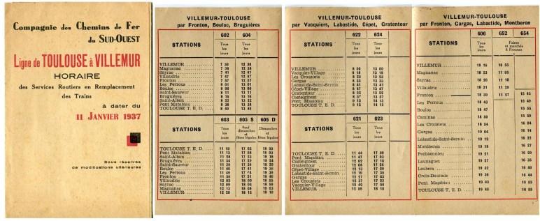 horaires autobus