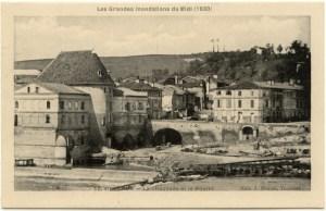 moulin et chaussée