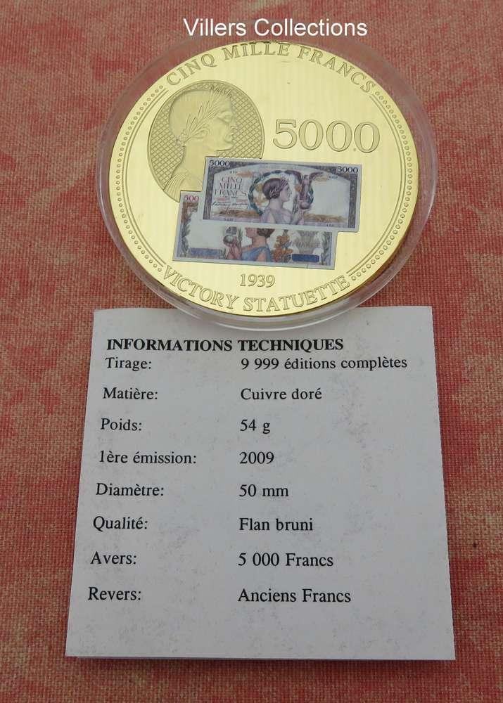 500 Anciens Francs En Euros : anciens, francs, euros, Médaille, Française, Anciens, Francs, Victory, VILLERSCOLLECTIONS