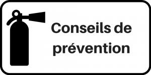 Conseils de prévention
