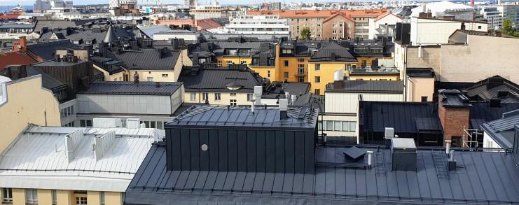 Helsinki näkymä linkkejä asuntokauppaan