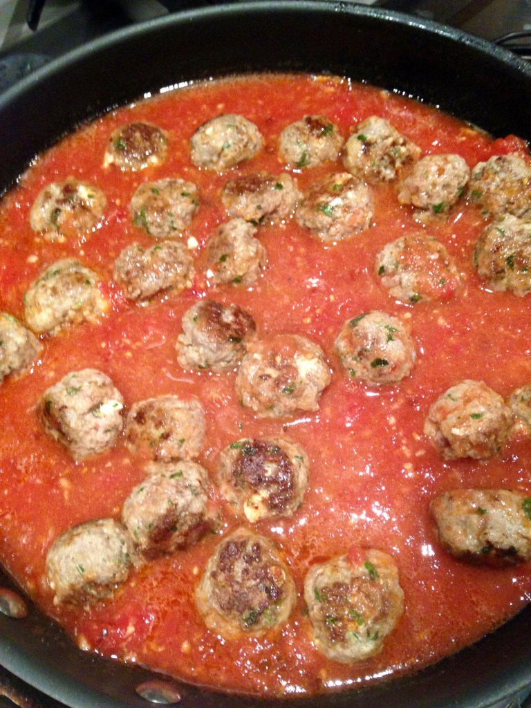 making meatballs 5