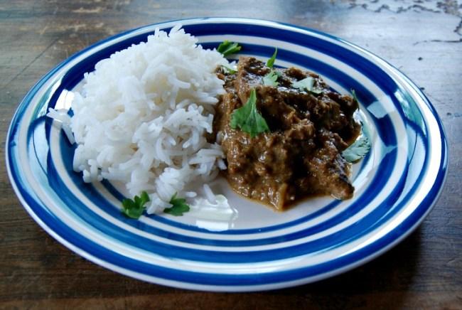 Goan beef curry