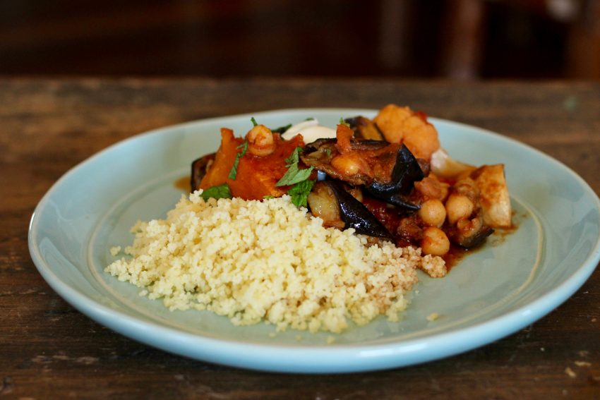 roast vegetable tagine