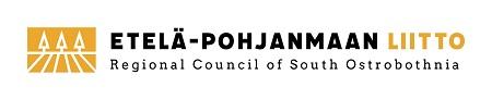 Eteläpohjanmaan liiton logo, peltoa