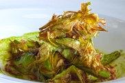 Alcachofas de Tudela fritas en Villoldo