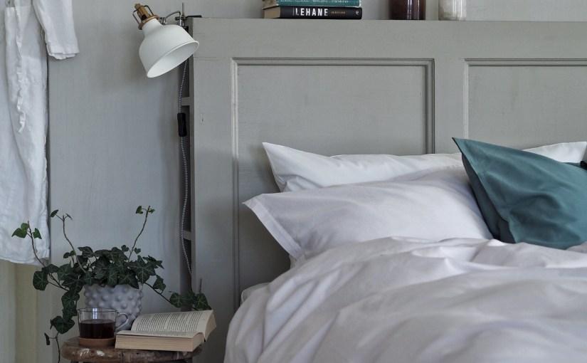 Bygg din egen sänggavel med förvaring