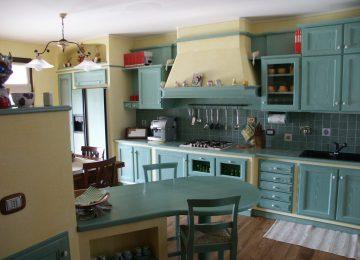 Cucine Ad Angolo In Finta Muratura | Cucine Classiche Rustiche In ...