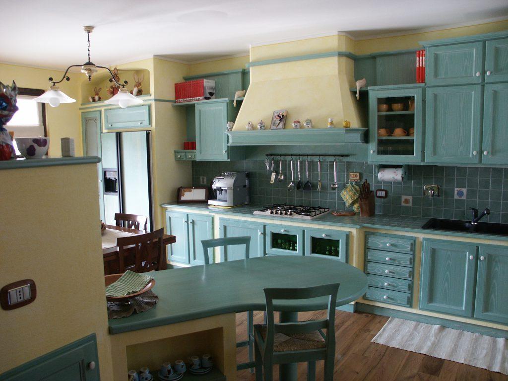 Cucina A Muratura | Realizzazione Cucine In Muratura Santo Tomagra