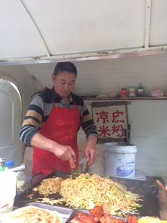 cibo da strada a Pechino