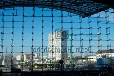 Aus dem Hauptbahnhof gesehen