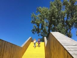 Treppe am Park Pompenburg