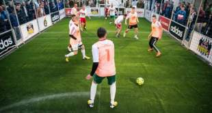 Futbolas Gedimino prospekte