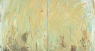 Kristina Mažeikaitė. Waiting for the Sun (Geltonas vakaras). 2015, drobė, aliejus, 260 x 300