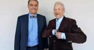 Algirdas Kaušpėdas ir Virgilijus Noreika (organizatorių archyvo nuotr.)