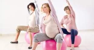 mankšta nėščiosios