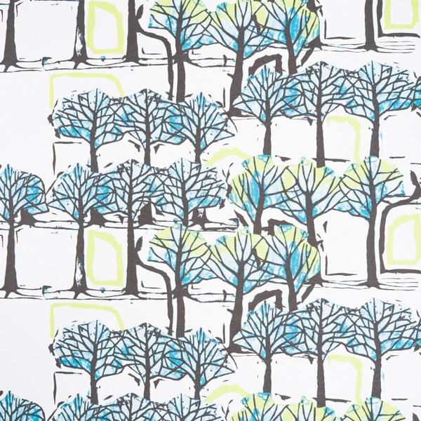 Bulevardi kangas sinivihreä