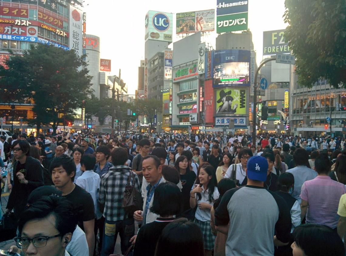 Shibuya Crossing - en var orsakerna varför du borde flytta till Japan