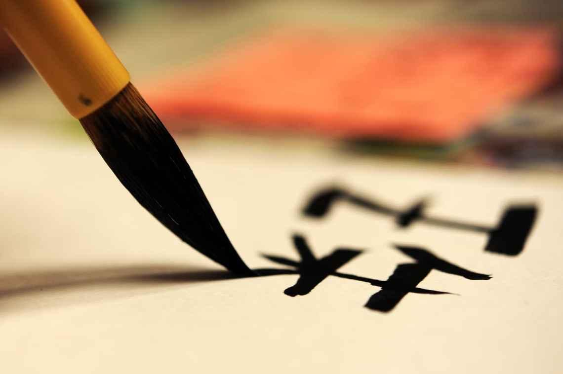 Lär dig skriva kanji - japanska tecken