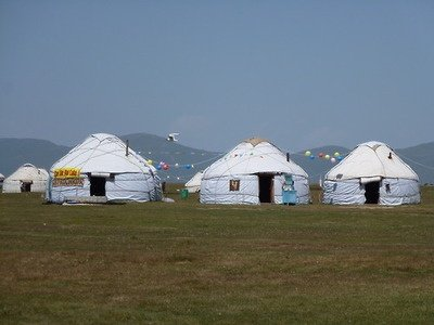 La Yurta La vivienda nmada de las tribus mongolas
