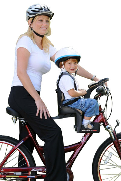 Las sillitas para nios en la bicicleta