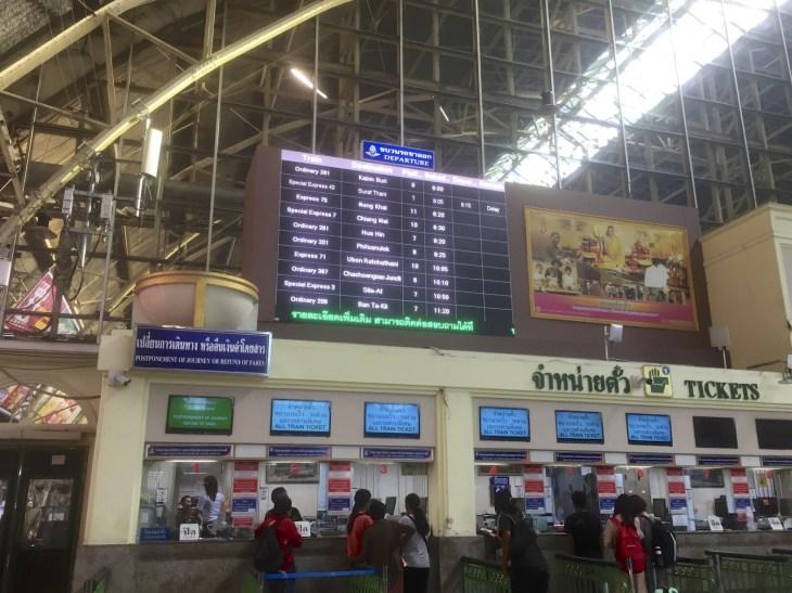 Juna-asema Bangkok