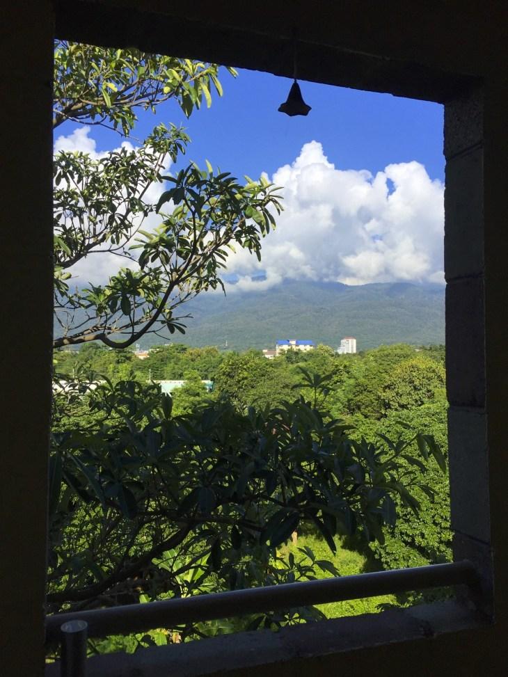 Parveke näkymä Chiang mai