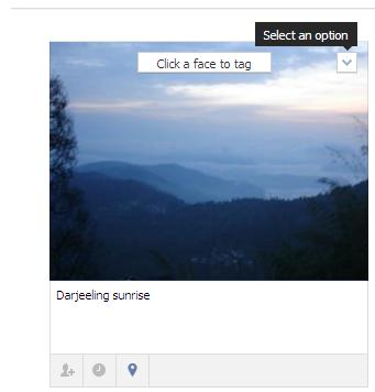 How to move photos from one album to another in the new Facebook (1/3)