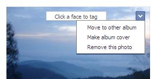 How to move photos from one album to another in the new Facebook (2/3)