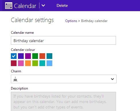 How to disable Birthday Calendar notification mails in Outlook (5/6)
